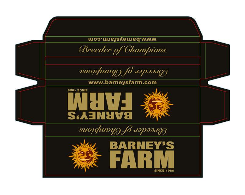 Barneys-Sigarenpakket