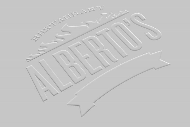Embossed Business Card MockUp-logo2